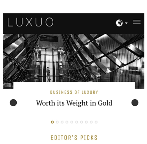 Luxuo Interview with David Mitchell - Investing During A Crisis