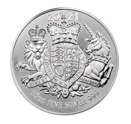 Buy Valiant 10 Toz Silver Royal Mint Coin online with Indigo