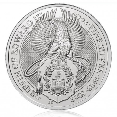 10 oz silver Griffin coin buy online