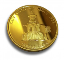 1oz gold 1988 Korea coin Pul Guk Temple, buy online with ipm group