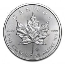 1oz Silver Maple 2021 | solely for Freeport storage or Singapore pickup