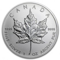 1oz Silver Maple Leaf Various Years