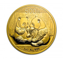 gold panda 1 ounce coin year 2009 front image buy online