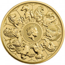 1oz Gold Queen's Beast 2021 Completer Coin