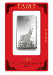 Buy Lunar Year of Goat Silver 1oz with Indigo