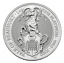 1oz platinum yale coin buy online
