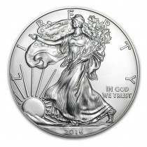 USA Eagle silver coin 1 ounce buy online with Indigo
