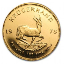 Buy Gold krugerrand various Years with Indigo