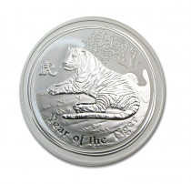 1oz silver Year of Tiger 2010 coin, buy online with ipm group