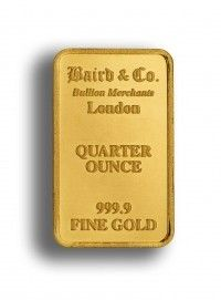 Buy Baird Gold bar 1/2 ounce online