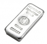 Heraeus Silver cast bar 1 kilo buy LBMA Good Delivery online